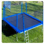 15x17 ft Rectangular Trampoline with Enclosure