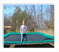 15x17 ft Rectangular Trampoline