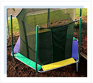 16ft Octagonal Trampolines With Enclosure