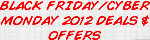 Black Friday/Cyber Monday 2012 Deals & Offers on Trampolines and Trampoline Parts