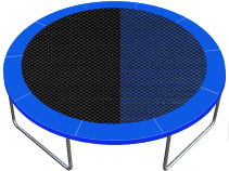 Trampolines Exclusive Mat Fabric colors