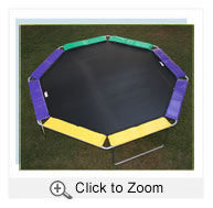 Octagonal Trampoline Mat order by Mat Measurement