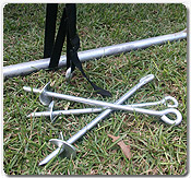 Trampoline Anchor Kit - Trampoline Replacement Parts