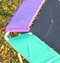 Octagonal Pads Trampoline Parts